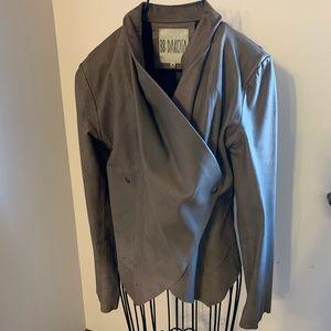 BB Dakota Raw Leather Jacket